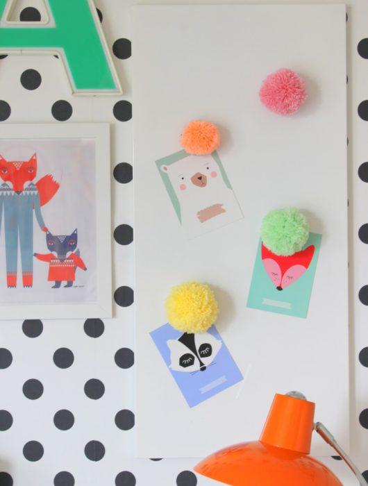 DIY Ideen mit Pom Poms
