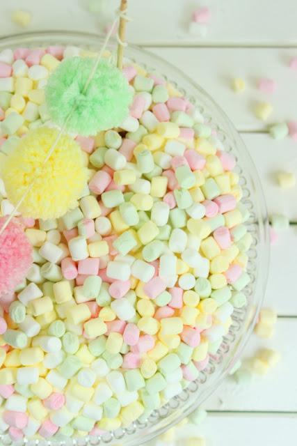 Geburtstagskuchen: ein Traum in Pastell
