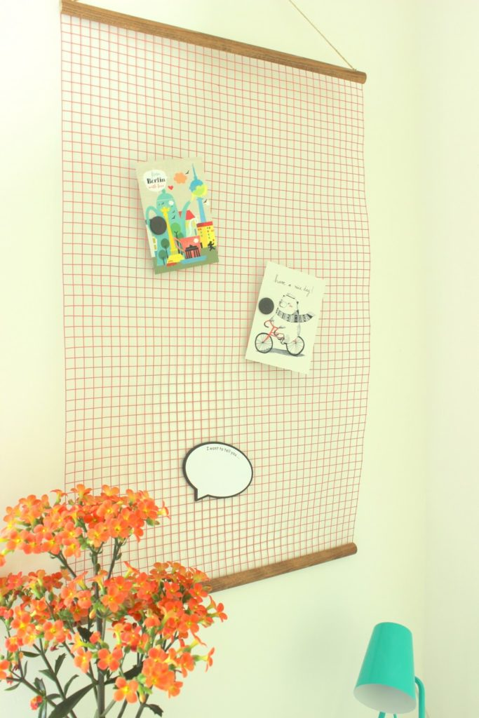 DIY Magnet - Pinnwand aus Hasendraht