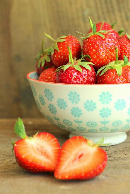 ♥ Erdbeerliebe + Erdbeersirup ♥