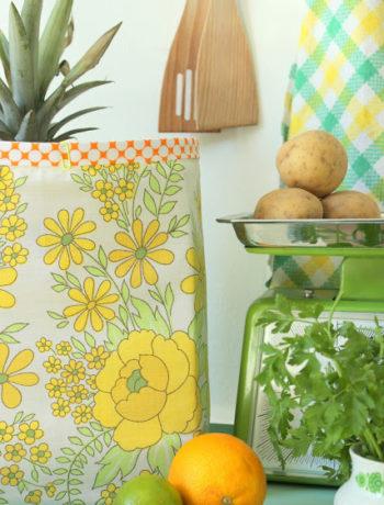 DIY ein Überzug für Paper Bag nähen