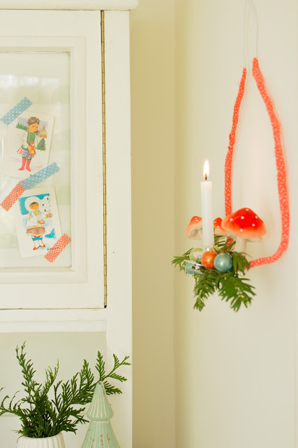kleines DIY + Wohnzimmer im Winter