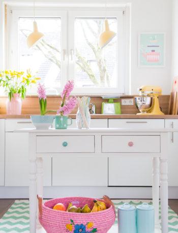 Küche im Frühlingsoutfit *