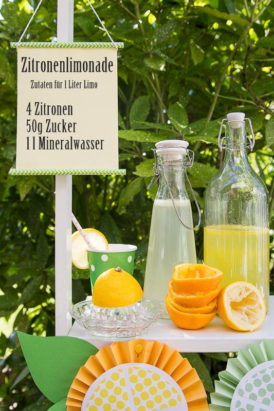 Sommerspaß für Kinder - Limonadenstand*