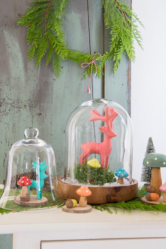 Herbstliche oder doch schon weihnachtliche Dekoration selber basteln