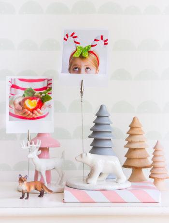 Fotohalter selber basteln + Geschenkidee für Weihnachten*
