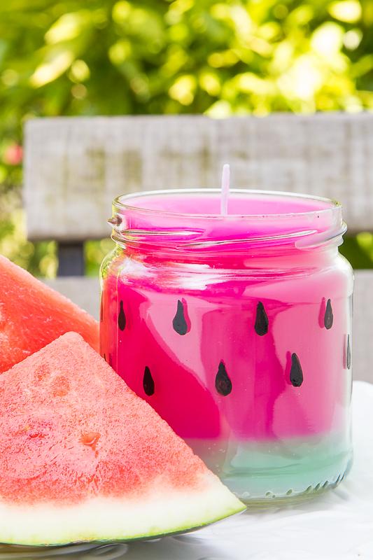 Diy Sommerliche Kerzen Selber Machen Verlosung Pfefferminzgrun