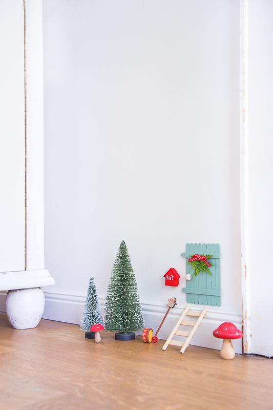 DIY - eine märchenhafte Wichteltür basteln
