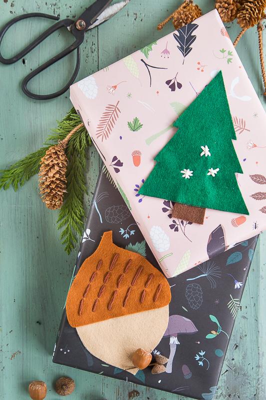 Bastelidee für die Weihnachtspost mit einer ganz persönlichen Note*