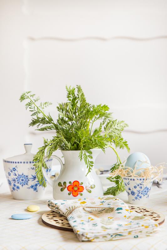 Tischdekoration - Osterideen im Vintagestyle