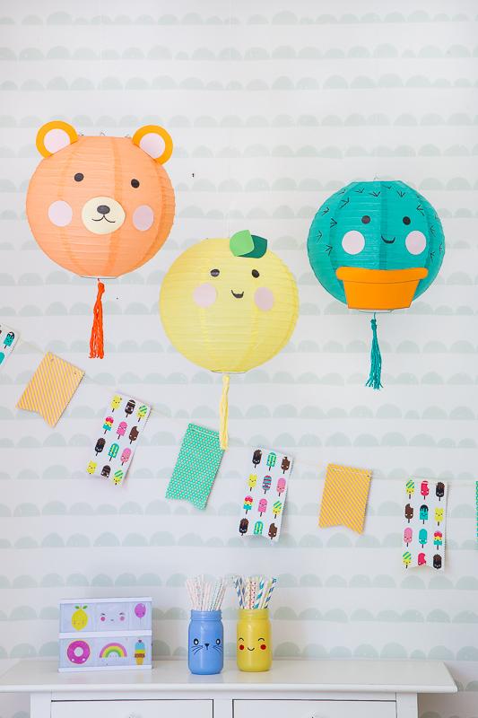 Verspielt, bunt und fröhlich - eine Geburtstagsparty im Kawaii - Style