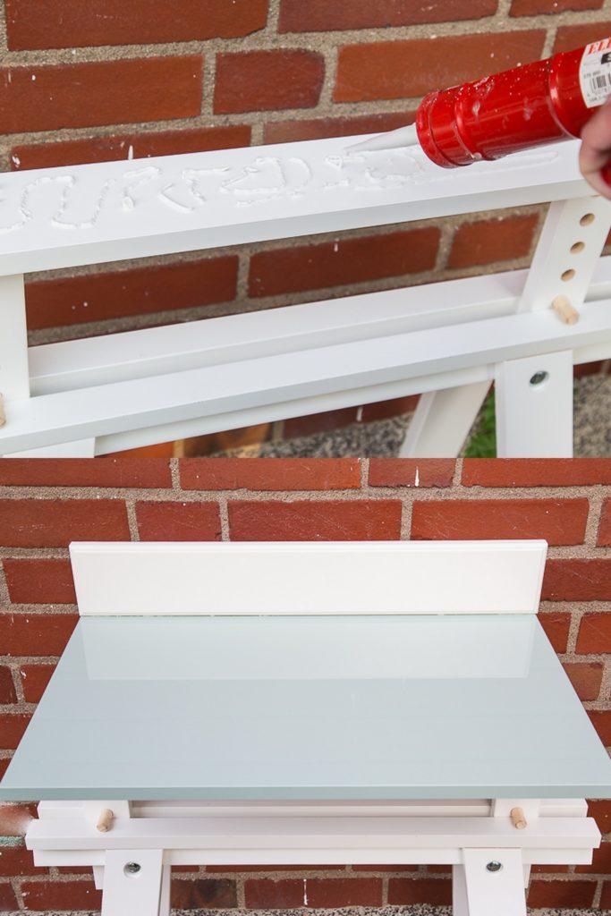 ikea hack einen pflanztisch schnell selberbauen pfefferminzgr n. Black Bedroom Furniture Sets. Home Design Ideas