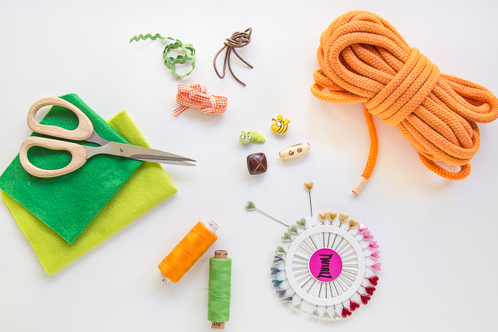 DIY Sommertasche aus einem Seil selber nähen