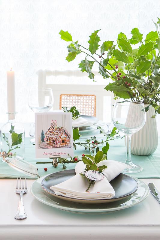 Es wird weihnachtlich - einfache DIY Ideen für die Tischdekoration