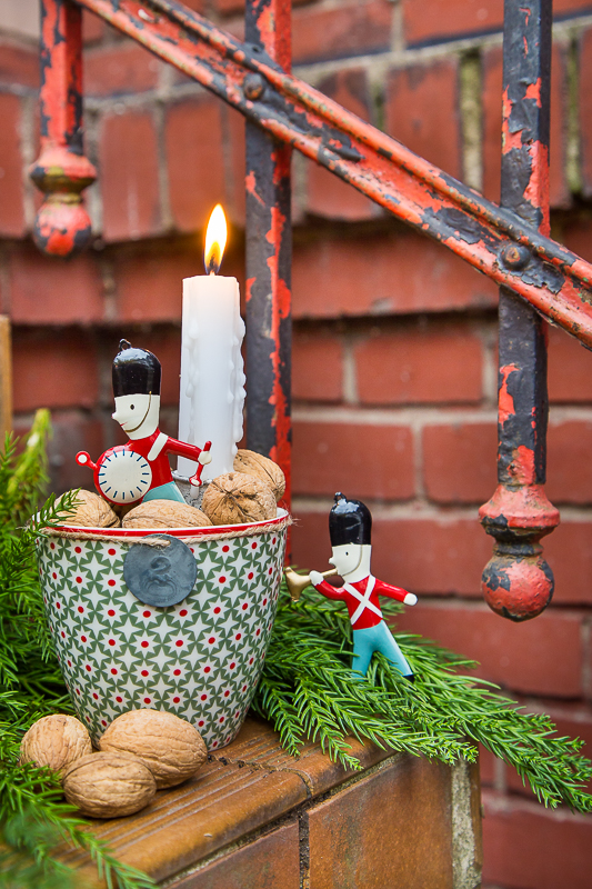 Last Minute Adventskranz als Dekoration und Geschenkidee