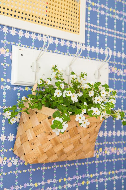 DIY Pinnwand aus Wiener Geflecht basteln