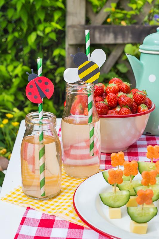 Ein Picknick Kindergeburtstag feiern mit kreativen Ideen