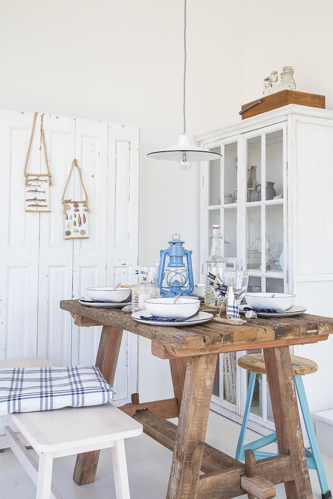 Sommer Sonne Meer - Maritime Ideen für deine Tischdeko